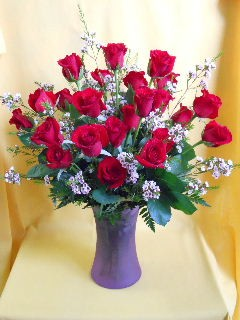 Two Dozen Classic Red Roses